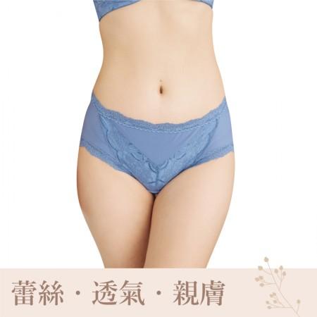 內褲/涼感 中腰三角包臀內褲 U876021【小百合】台灣製