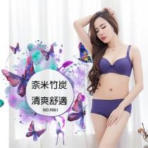 內褲【小百合】透氣  奈米竹炭 U 9061  舒適女內褲 台灣製