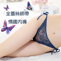 內褲【小百合】精美蕾絲 綁帶設計 輕薄透氣 /兩件一組 U 154 女三角內褲