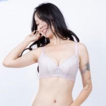 內衣 戀戀風情軟鋼圈 BC 蕾絲無痕 收副乳 修飾調整胸罩 82102小百合 台灣製