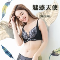 內衣/魅惑天使 靠攏深V 吸濕排汗機能胸罩 C D EF 小百合 1129901 台灣製