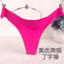 丁字褲/【小百合】T褲無痕多色可選 舒適好搭 貼身不卡卡U 888