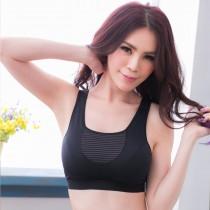 小百合M X 2866 T-bra 女人0壓力 HI COOL 機能型素材會呼吸孕婦 跑步瑜伽背心 無鋼圈 運動內衣