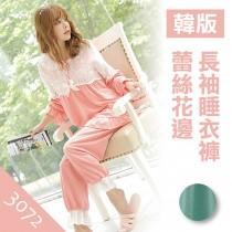 睡衣褲/夏季新款韓版甜美休閒家居睡衣褲【小百合】3072