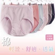 內褲【小百合】U5266 棉材質 輕盈、舒適、透氣、吸濕排熱 內褲台灣製