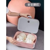 內衣 攜式收納硬盒(可收納內衣+內褲+襪子) 旅行收納小幫手 【小百合】