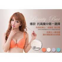 小百合 【N J 2237】爆款 托高集中第一選擇 吸濕排汗副乳變美波調整內衣 台灣製