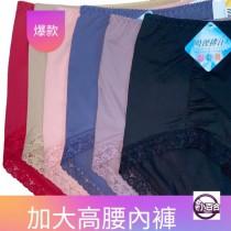 內褲/高腰 加大內褲 吸濕排汗 超細纖維 莫代爾 小百合 台灣製