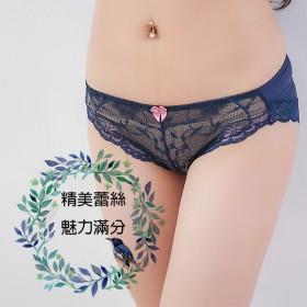 內褲【小百合】透氣舒適 無痕蕾絲 U 2638 女三角內褲
